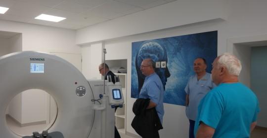 Otwarcie Pracowni Tomografii Komputerowej.