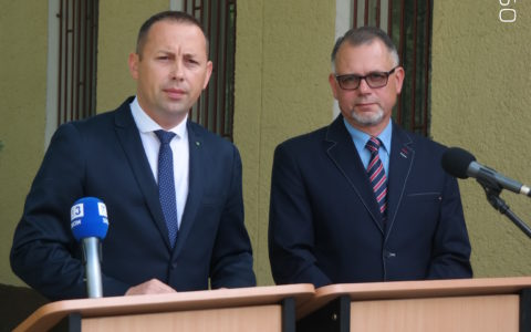 Sytuacja w Szpitalu Powiatowym w Goleniowie – stabilna, co potwierdza konferencja prasowa.