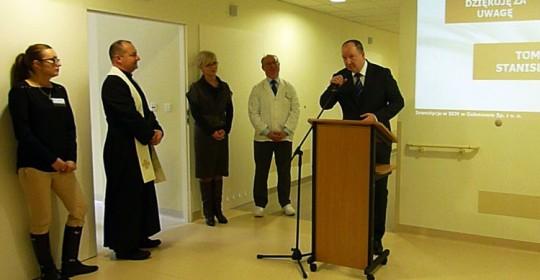 Otwarcie I piętra Zakładu Opiekuńczo–Leczniczego