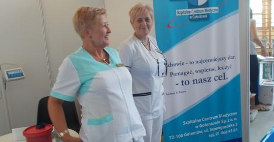 """Szpitalne Centrum Medyczne w Goleniowie na Targach ,,Aktywny Senior """""""