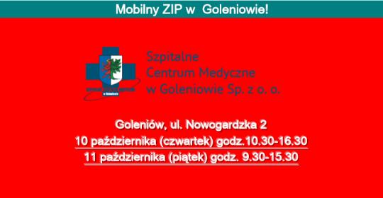 Mobilny ZIP w Goleniowie.