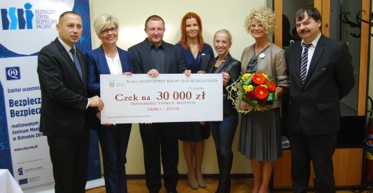 Wielka pomoc od Rotary Club Szczecin Center.